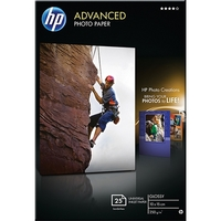 HP Advanced Photo Paper 6x4 Borderless (25 Sheets, 250gsm)