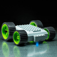 MeeperBot 2.0 - Smart App Controlled Car (Green)