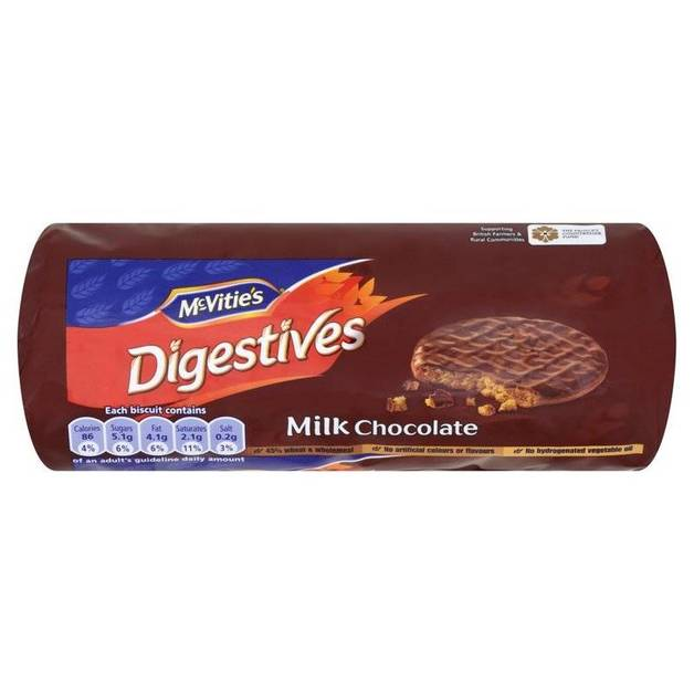 McVitie's Digestives Milk Chocolate (266g)