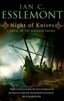 Night of Knives (Malazan Empire #1) by Ian Cameron Esslemont image