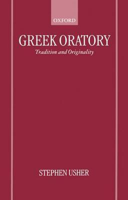 Greek Oratory by Stephen Usher image