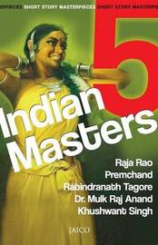 5 Indian Masters by Raja Rao