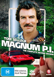 Magnum P.I Season 2 on DVD