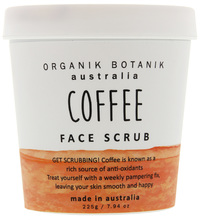 Organik Botanik Splotch Face Scrub- Coffee (225g)