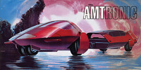 AMT: 1/25 AMTronic Car - Model Kit