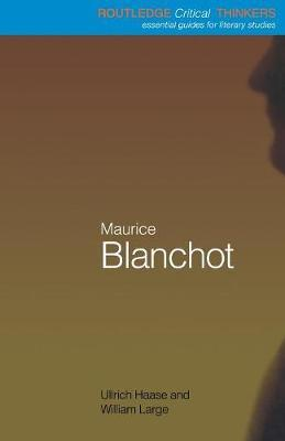 Maurice Blanchot by Ullrich Haase image