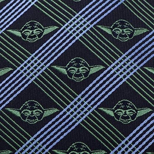 Yoda (Navy) - Modern Plaid Tie image