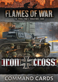 Flames of War: Iron Cross Command Cards (x48)