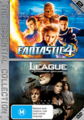 Fantastic 4 / League Of Extraordinary Gentlemen - The Essential Collection (2 Disc Set) on DVD