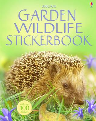 Garden Wildlife Sticker Book by Philip Clarke image