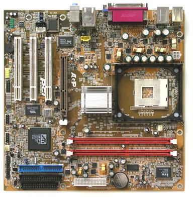 Sapphire SAP ATI IGP9100 M/B W/LAN, USB2.0, 6 CH, H/W, MATX image