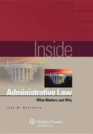 Inside Administrative Law by Jack M Beermann image