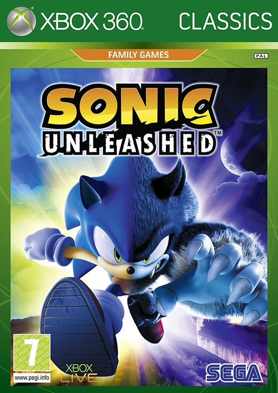 Sonic Unleashed (Classics) for X360