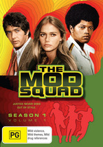 Mod Squad, The (1968) - Season 1: Vol. 1 (4 Disc Set) on DVD