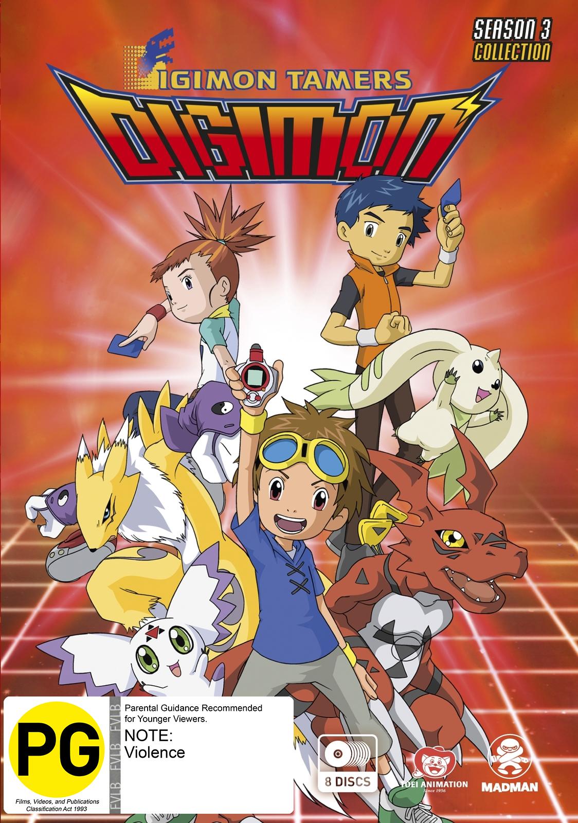 Digimon Tamers - Season 3 Collection on DVD image