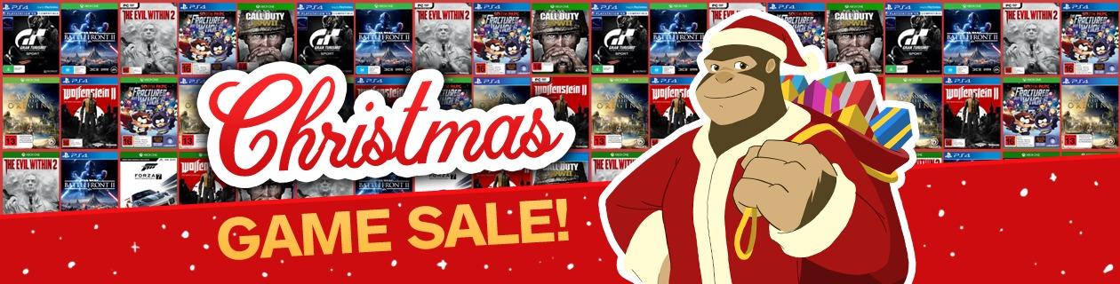 Xmas game sale