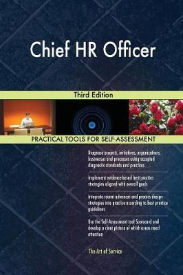 Chief HR Officer Third Edition by Gerardus Blokdyk image