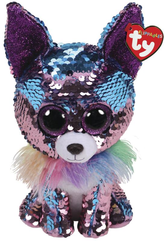 TY Beanie Boo: Flip Yappy Chihuahu - Medium Plush