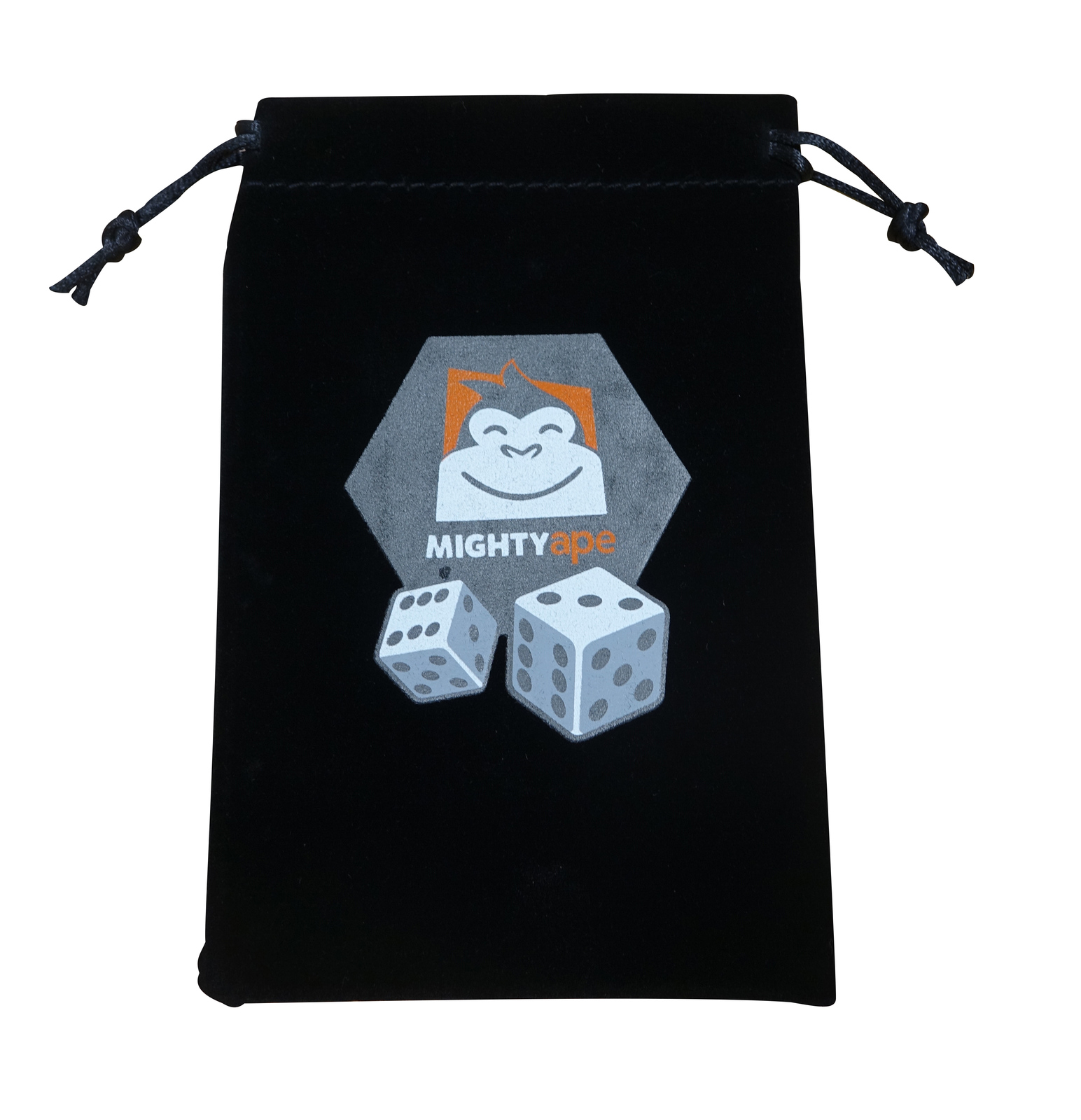 Mighty Ape Drawstring Component/Dice Bag - Large image