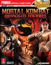 Mortal Kombat: Sholin Monks - Prima Offical Guide for PlayStation 2