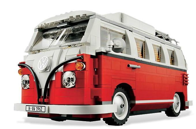 lego creator volkswagen t1 camper van 10220 toy at. Black Bedroom Furniture Sets. Home Design Ideas