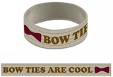 Doctor Who Bow Ties Are Cool Rubber Wristband