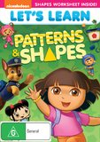 Let's Learn: Patterns & Shapes on DVD