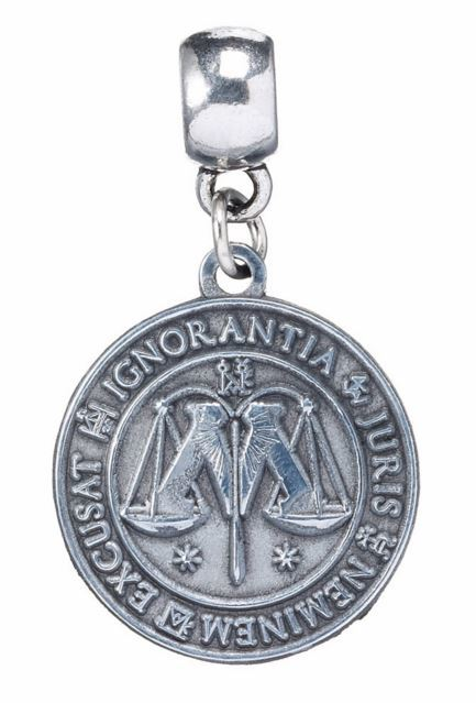 Harry Potter Charm - Ministry of Magic (silver plated)
