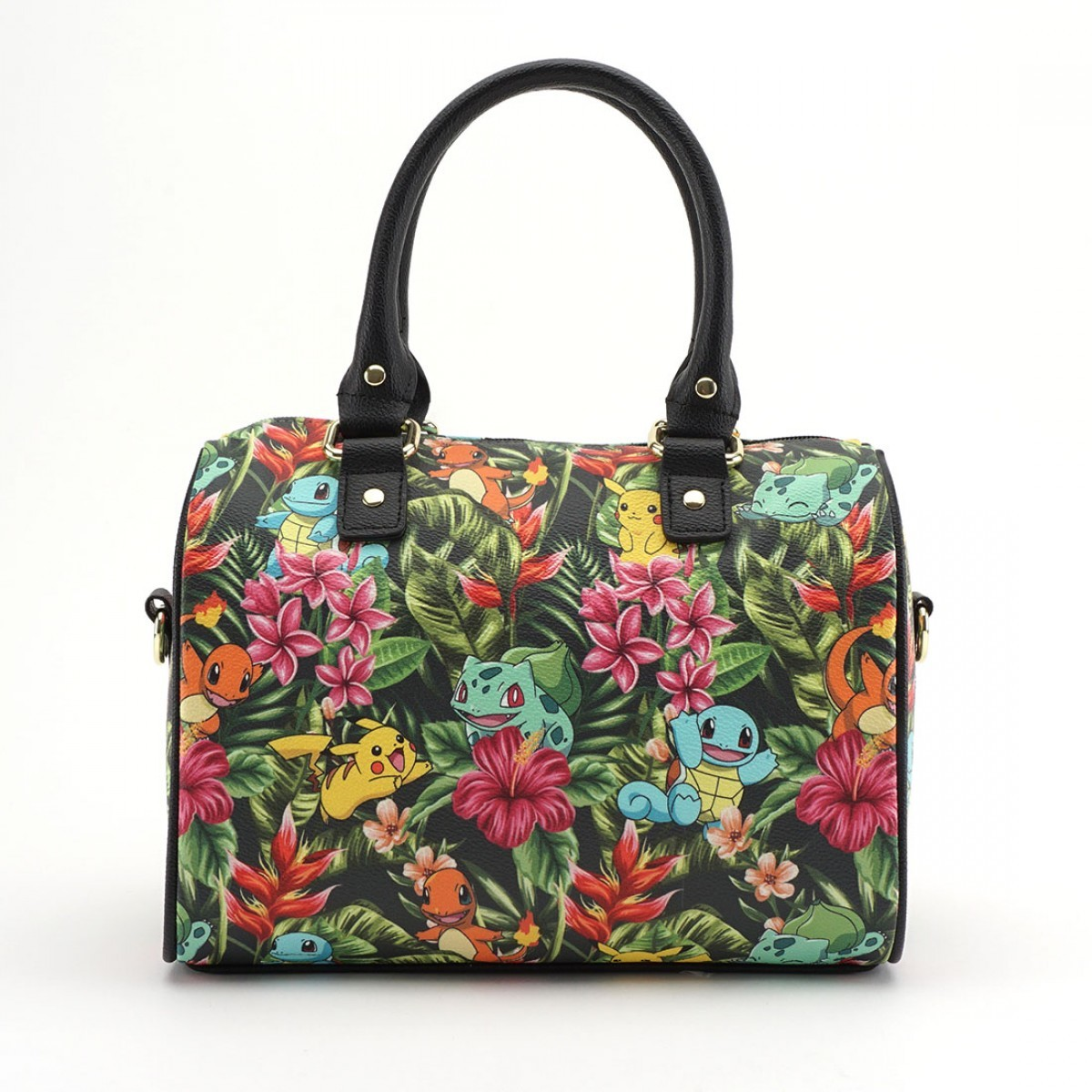 Loungefly Pokemon Tropical Starter Print Duffle Bag image