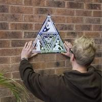 Zelda Triforce Mirror image