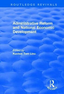 Administrative Reform and National Economic Development image