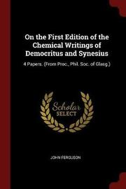 On the First Edition of the Chemical Writings of Democritus and Synesius by John Ferguson image