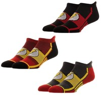 DC Comics: Flash Active - Ankle Socks Set (3-Pack)