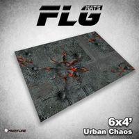 FLG Urban Chaos Neoprene Gaming Mat (6x4)