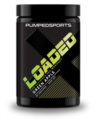 Pumped Sports Loaded Pre Workout - Green Apple image