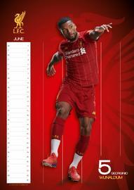 Official Liverpool 2020 A3 Wall Calendar image