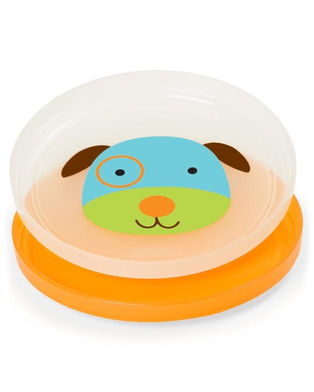 Skip Hop: Zoo - Smart Serve Plates Set (Dog)