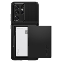 Spigen Slim Armor CS Case for Galaxy S21 Ultra 5G - Black
