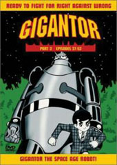 Gigantor - Collection 2 (2 Disc Set) on DVD