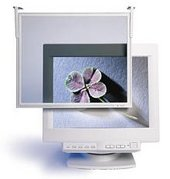 "3m HF300L Circular Polarizing Computer Screen Filter  Monitor size 12""-15""   99% Antiglare  Antistatic  Antiradiation"