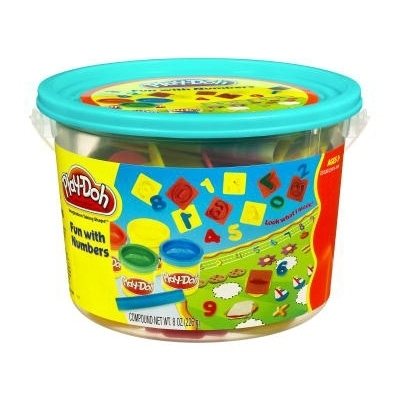 Play-Doh Fun with Numbers Mini Bucket