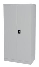 Proceed Steel Cupboard 3 Shelf - W900mm x D500mm x H1800mm (Stone Grey)