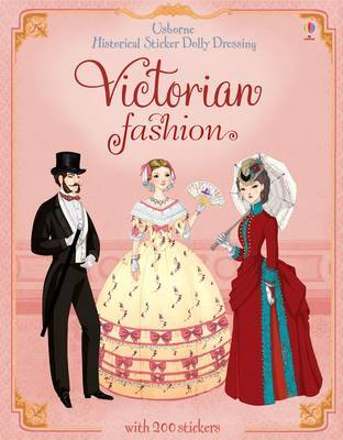 Sticker Dolly Dressing Historical Victorian Fashion by Sam Lake