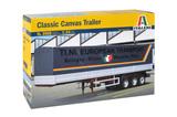 Italeri Classic 40FT Canvas Trailer 1:24 Scale Model Kit