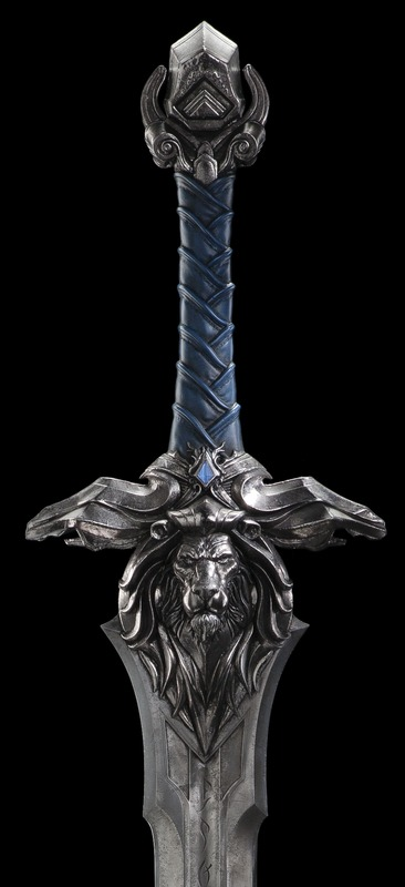 Warcraft Movie - 1:1 Scale Royal Guard Sword - Prop Replica