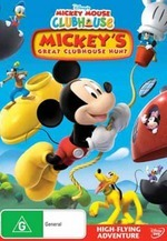 Mickey Mouse Clubhouse - Mickey's Great Clubhouse Hunt on DVD