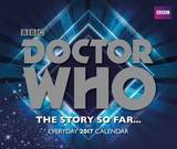 Doctor Who 2017 Desk Block Calendar
