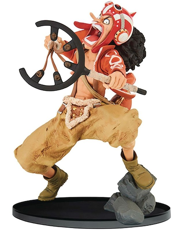 One Piece World Figure Colosseum 2: God Usopp – PVC Figure