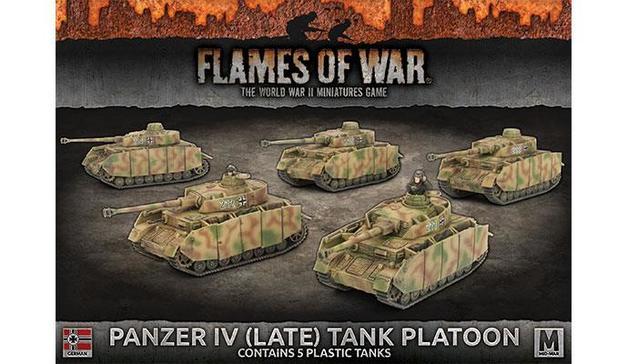 Flames of War: Panzer IV (Late) Platoon