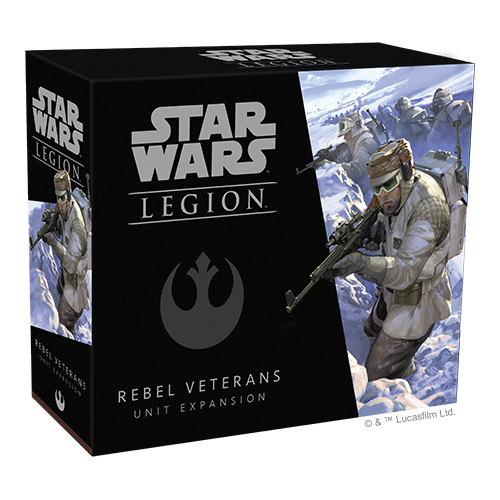 Star Wars Legion: Rebel Veterans Unit Expansion